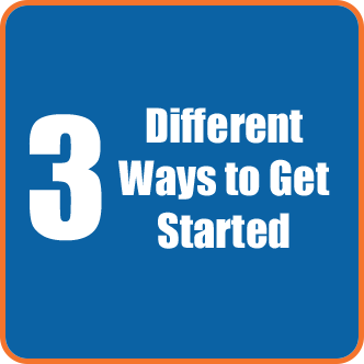 3 Different Ways to Get Started